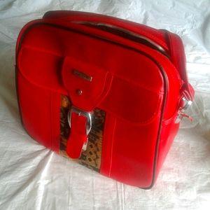 Vtg shoulder strap bag weekend/gym bag,luggage